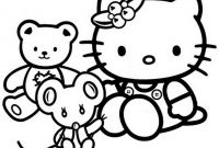 Coloring Pages for Kids - Free Printable Hello Kitty Coloring Pages for Kids