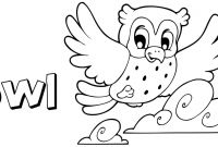 Coloring Pages for Kids - Owl Color Sheets 83 for Your Free Coloring Pages Kids with