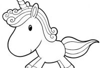 Coloring Pages for Kids - Printable Baby Unicorn Coloring Pages Kids Colouring Pages Jos