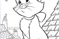 Disney Coloring Pages - Walt Disney Coloring Pages Marie Walt Disney Characters