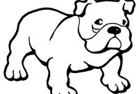 Dog Coloring Pages - Bulldog Drawing at Getdrawings