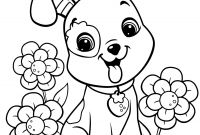 Dog Coloring Pages - Crammed Dog Coloring Pages Printable Cartoon Dogs 5 O Puppy 7