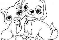 Dog Coloring Pages - Great Cat and Puppy Dog Coloring Page Have Pages Pdf 5