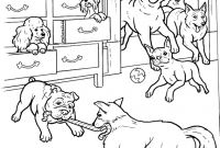 Dog Coloring Pages - Hotel for Dogs Coloring Pages
