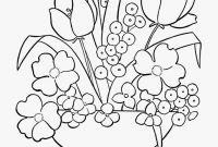 Flower Coloring Pages - 18inspirational Flower Coloring Sheets Clip Arts & Coloring Pages