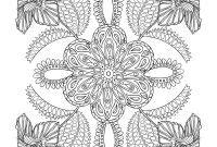 Flower Coloring Pages - 19 Coloring Pages Flowers for Adults Flower Coloring Pages for
