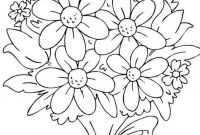 Flower Coloring Pages - Color Pages Flowers Timurtatarshaov