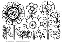 Flower Coloring Pages - Coloring Pages for Spring Flowers Valid Spring Flower Coloring Pages
