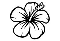 Flower Coloring Pages - Coloring Pages Hawaiian Flowers Innovative Exotic Flower Awesome