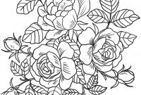 Flower Coloring Pages - Coloring Ukranochi