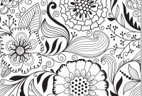 Flower Coloring Pages - Cute Henna Flower Coloring Valid Coloring Pages Abstract Flowers