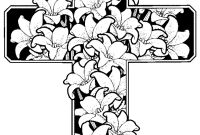 Flower Coloring Pages - Detailed Flower Coloring Pages