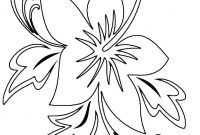 Flower Coloring Pages - Flower Color Pages Babbleeditionfo