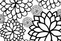 Flower Coloring Pages - Flower Coloring Pages Ukranochi