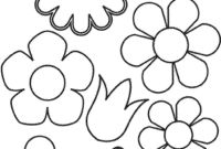 Flower Coloring Pages - Flower Coloring Sheets
