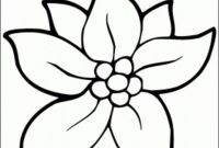 Flower Coloring Pages - Fresh Free Flower Coloring Pages Printable Gallery
