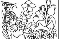 Flower Coloring Pages - Fresh Garden Flowers Coloring Pages 18 Print with Sheets