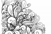 Flower Coloring Pages - New Mandala Flower Coloring Pages Collection