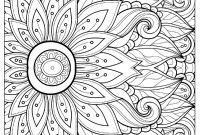 Flower Coloring Pages - Portfolio Picture Flowers to Color Flower with Many Petals Adult