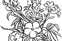 Flower Coloring Pages - Print & Download some Mon Variations Of the Flower Coloring Pages