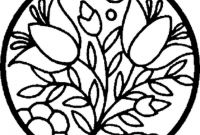 Flower Coloring Pages - Unique Printable Flower Coloring Pages Collection
