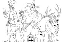 Frozen Coloring Pages - Free Disney Frozen Coloring Pages