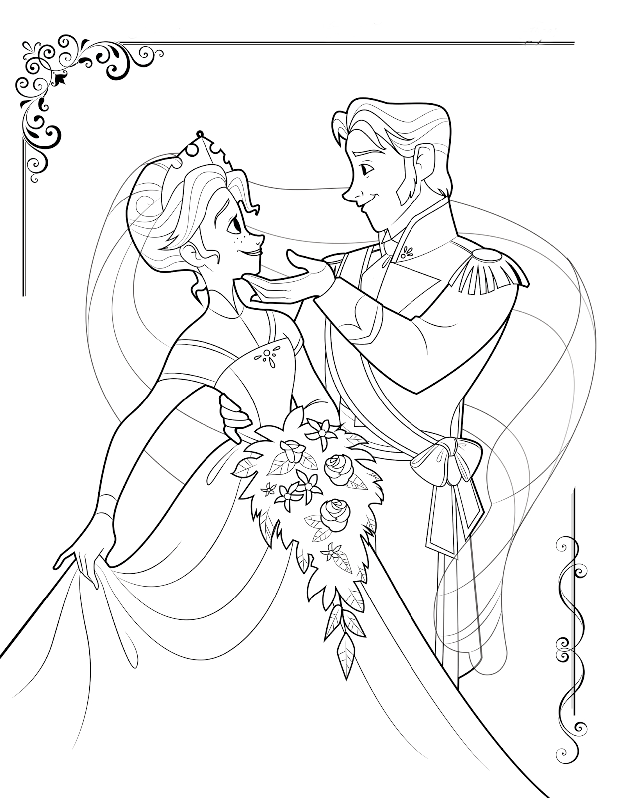 Frozen Coloring Pages Gallery | Free Coloring Sheets