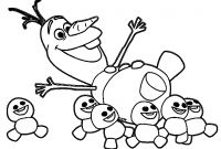 Frozen Coloring Pages - Olaf Coloring Sheets Anta Expocoaching