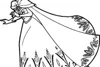 Frozen Coloring Pages - Princess Frozen Coloring Pages Download