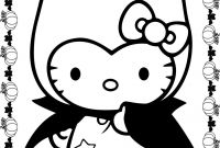 Halloween Coloring Pages - 28 Collection Of Halloween Hello Kitty Coloring Pages