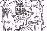 Halloween Coloring Pages - Coloringpagesfortoddlers – Enjoy these Free Printable New