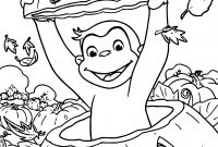 Halloween Coloring Pages - Curious George Halloween Coloring Pages Collection