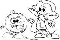 Halloween Coloring Pages - Free Disneyween Coloring Pages Best Cute Pdf Colouring for Adults