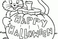 Halloween Coloring Pages - Free Kindergarten Halloween Coloring Sheets Myscres