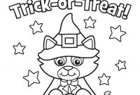 Halloween Coloring Pages - Free Preschool Coloring Pages Halloween Myscres