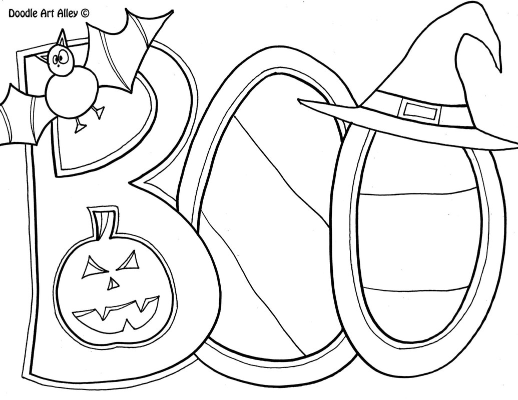 Halloween Coloring Pages Download 18l - Save it to your computer