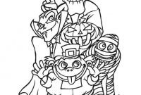 Halloween Coloring Pages - Halloween Coloring Pages Free Printable Scary Many Interesting Cliparts