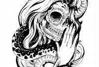 Halloween Coloring Pages - Halloween Coloring Pages Skulls New Sugar Skull Drawings Tumblr
