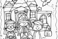 Halloween Coloring Pages - Melonheadz Lucy Doris Halloween Coloring Page Freebie