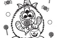 Halloween Coloring Pages - Preschool Halloween Pages