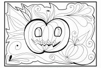 Halloween Coloring Pages - Spooky Halloween Coloring Pages at Getcolorings