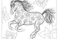 Horse Coloring Pages - Adult Coloring Pages Horses
