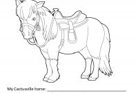 Horse Coloring Pages - Appaloosa Horse Coloring Pages