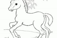 Horse Coloring Pages - Ba Horses Coloring Page Horse Pages Inside the Beautiful Baby 6