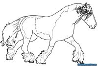 Horse Coloring Pages - Coloring Page Of A Horse