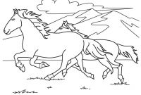 Horse Coloring Pages - Free Printable Horse Coloring Pages for Kids