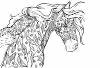 Horse Coloring Pages - Horse Coloring Pages for Adults