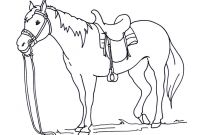 Horse Coloring Pages - Horses to Color and Print