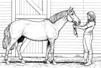 Horse Coloring Pages - Http Colorings Co Free Printable Realistic Horse Coloring Pages Ruva