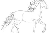 Horse Coloring Pages - Realistic Horse Coloring Pages Gamz